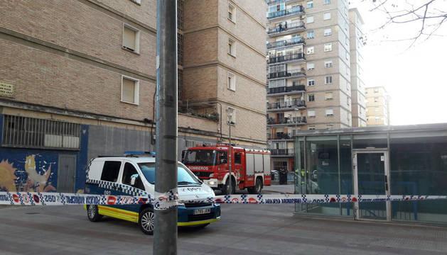 Un incendio afecta a un primer piso en el barrio de San Jorge