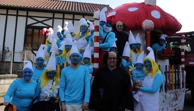 El buen tiempo acompañó en el carnaval de Lekunberri