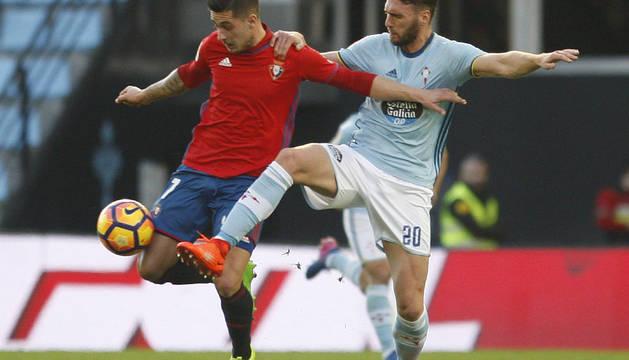 Imágenes del encuentro entre Celta y Osasuna disputado en Balaídos