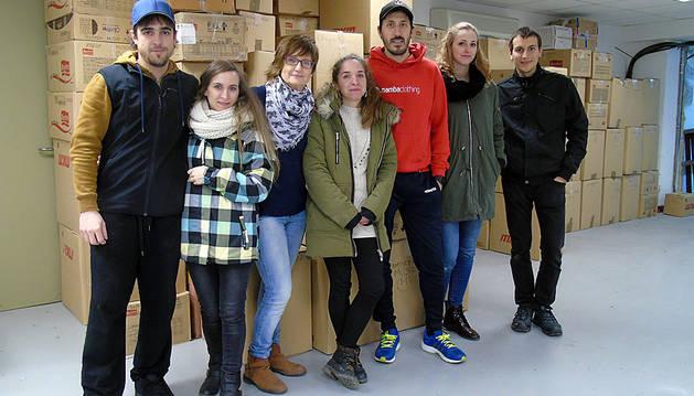 Barañáin tiende su mano a las personas refugiadas