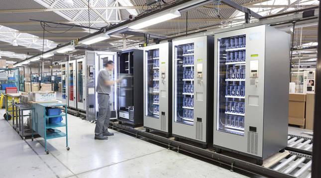 foto de las instalaciones de la fábrica de Jofemar