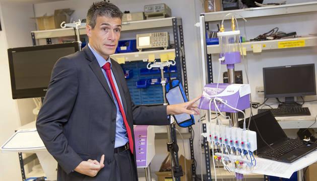 foto de Luis Collantes, director general de Albyn Medical.