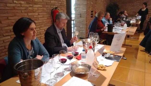 foto de la Cata a ciegas de vinos de la D.O. Navarra