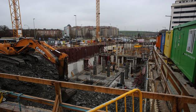 La construcción, uno de los sectores con más siniestralidad.
