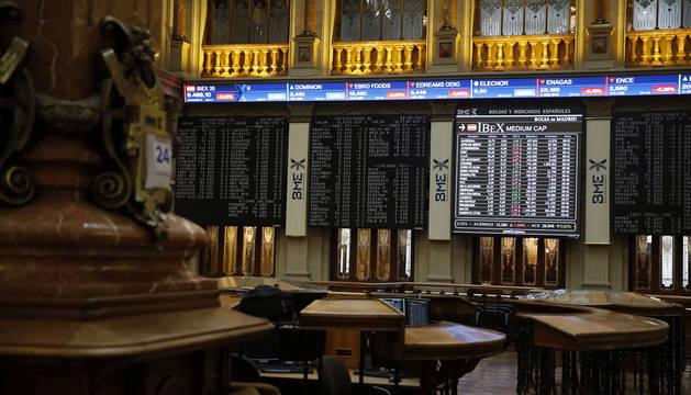 La bolsa española este 24 de febrero.