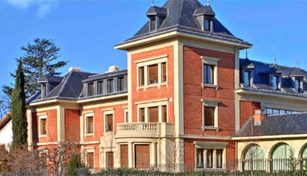 El Colegio de Médicos de Pamplona.