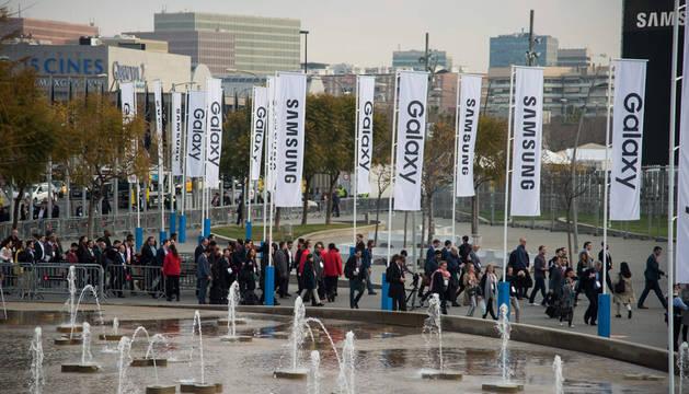 Barcelona, el reino del 'smartphone' tras la primera jornada del MWC