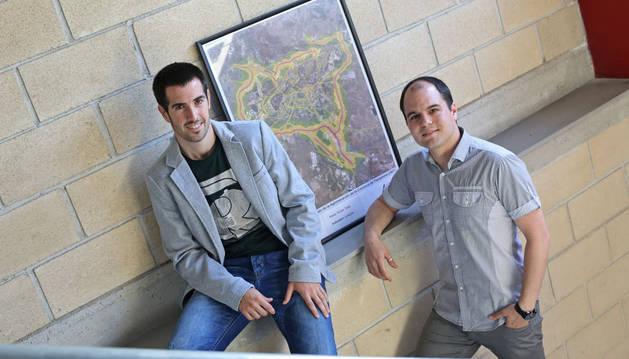 foto de David Pérez Rubio e Iñaki Nagore Esparza, socios de ID Ingeniería Acústica.