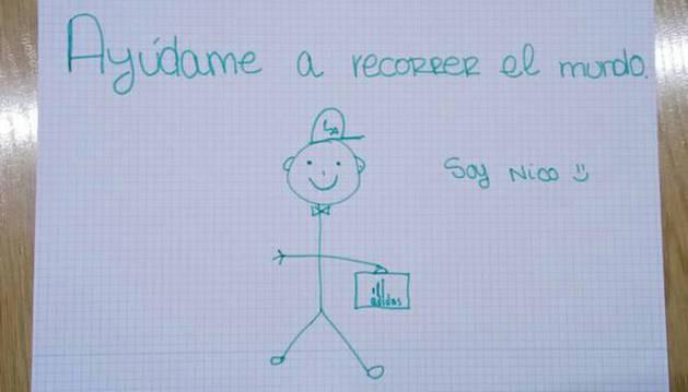 El mensaje de Nico.