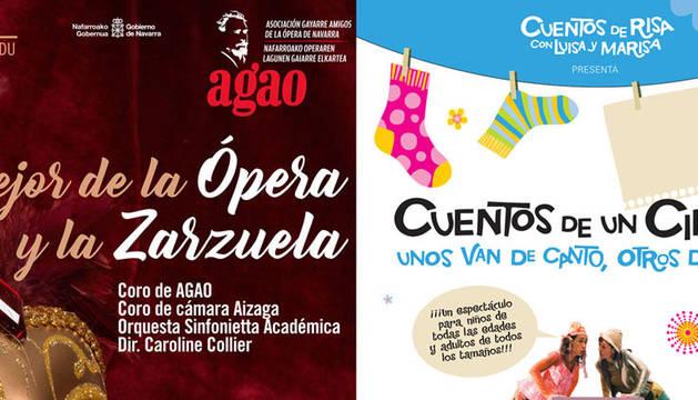 Lo mejor de la ópera y la zarzuela y una propuesta familiar
