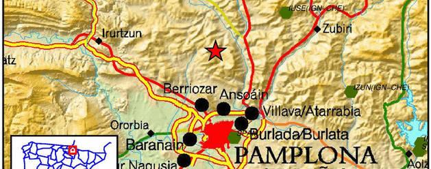 Terremoto de 4,2 grados en Navarra