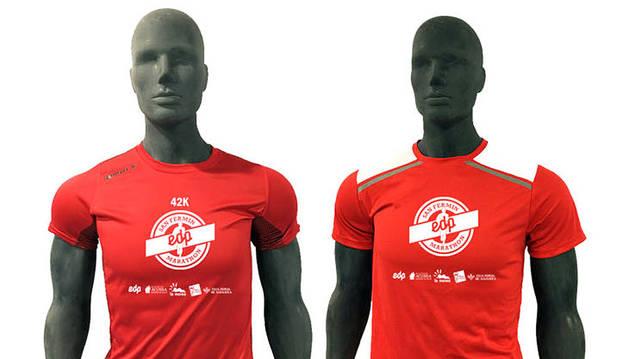 El 'EDP San Fermín Marathon' presenta sus camisetas oficiales