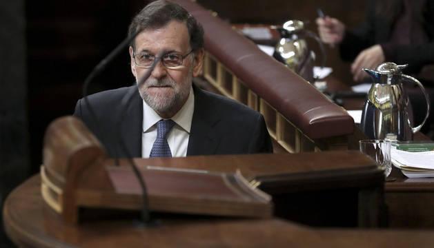 Rajoy, este miércoles en el Congreso