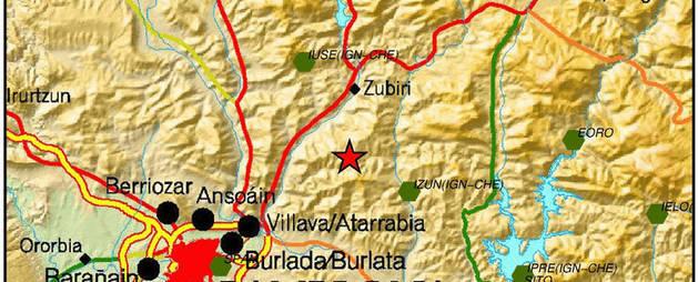 Navarra registra otros dos temblores este miércoles