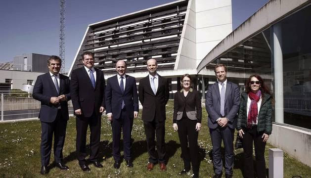 Imágenes de la visita del vicepresidente de la comisión europea y responsable de la Unión Energética, Maros Sefcovic, al Centro Nacional de Energías Renovables (CENER).