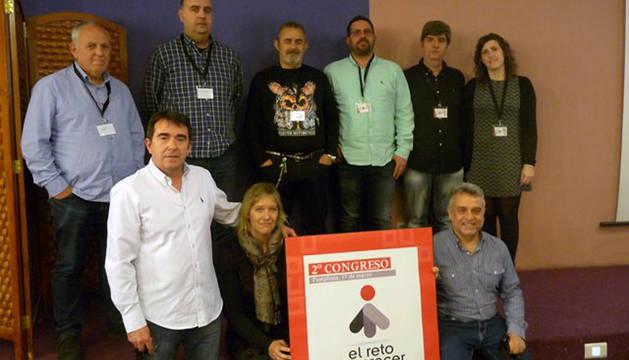 Nueva dirección de la Federación de Industria de CC OO Navarra.