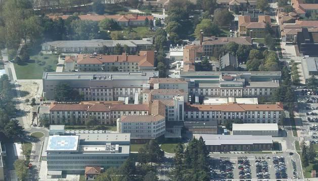 Imagen de archivo del Complejo Hospitalario de Navarra.