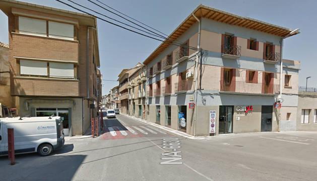 La pelea tuvo lugar en plena calle en Funes.