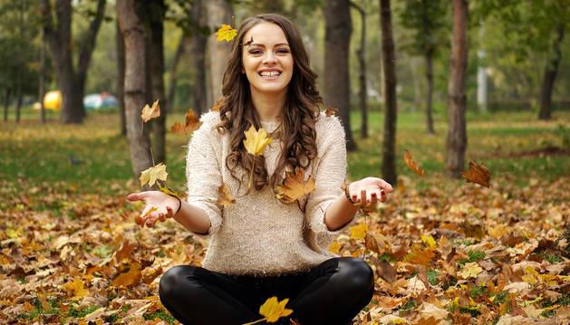 Imagen de una chica sonriendo.