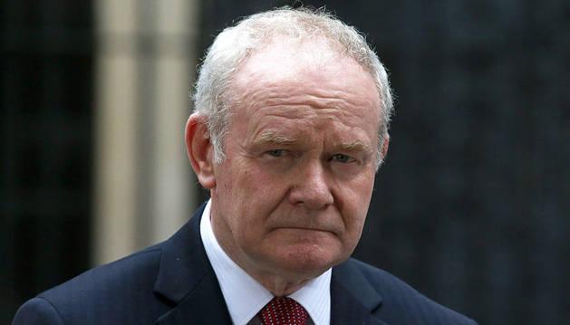 Fallece Martin McGuinness, exviceministro norirlandés y antiguo comandante del IRA