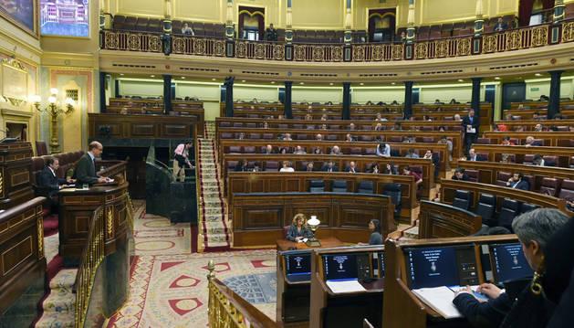 Imagen del pleno del Congreso de los Diputados.