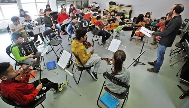 Enseñanzas musicales integradas en el colegio Vázquez de Mella-Bayonne