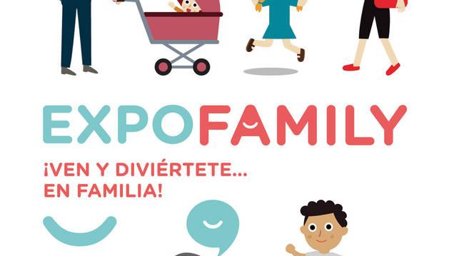 Imagen del cartel de la feria sobre la familia que tendrá lugar en Baluarte en mayo.