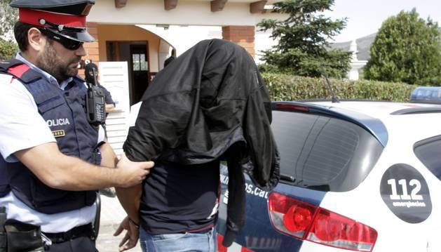 Los Mossos d'Esquadra detienen a un sospechoso