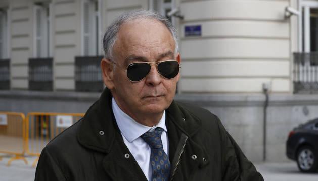 Foto del ex número dos de la Policía Eugenio Pino.