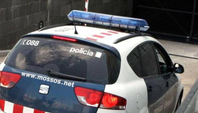 Foto de un vehículo de los mossos d'Esquadra.