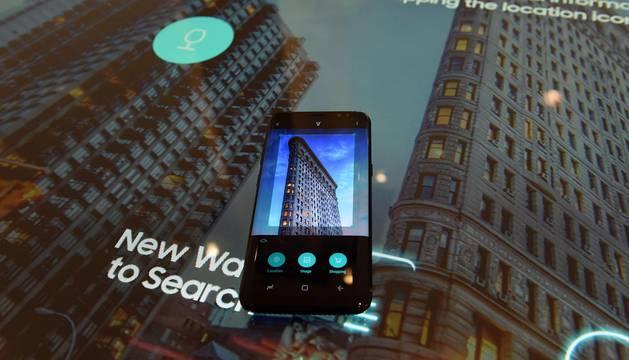 Nueva York y Londres acogieron el miércoles 29 de marzo de 2017 la presentación del nuevo modelo de teléfono.