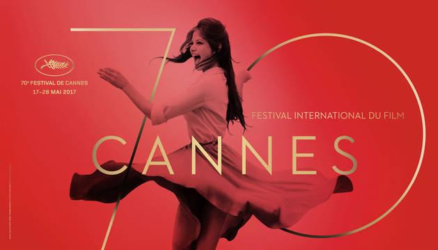 Imagen del cartel de la 70ª edición del Festival de Cannes.