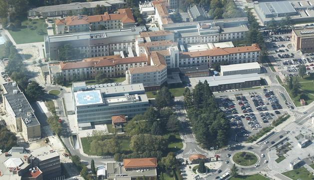 Imagen aérea del Complejo Hospitalario.