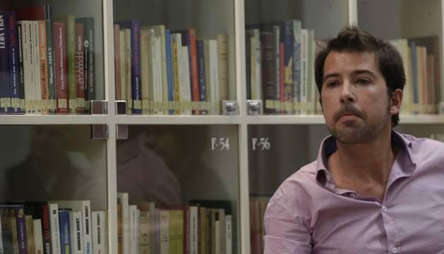 Ignacio Lloret presentó La pequeña llama del día en Diario de navarra