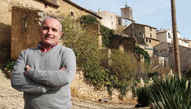foto de Ramón Navarro, presidente de la Asociación de Hoteles Rurales de Navarra Reckrea