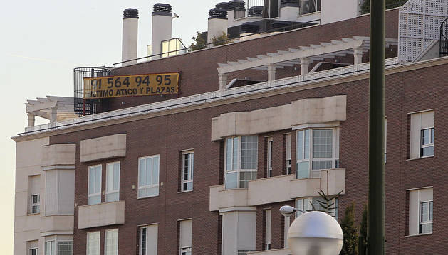 Imagen de unas viviendas a la venta