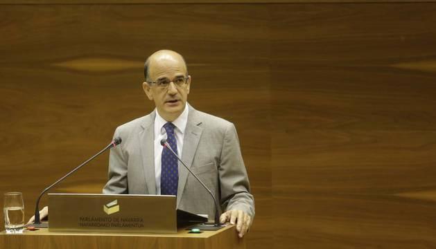 El expresidente de la Cámara, Alberto Catalán.