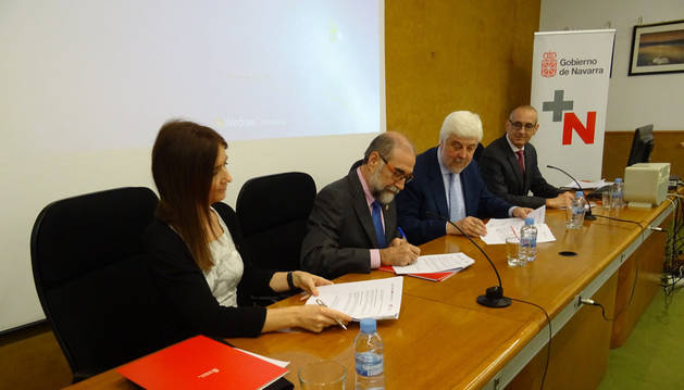 Colaboración entre Salud y las sociedades Española y Vasco-Navarra de Cardiología