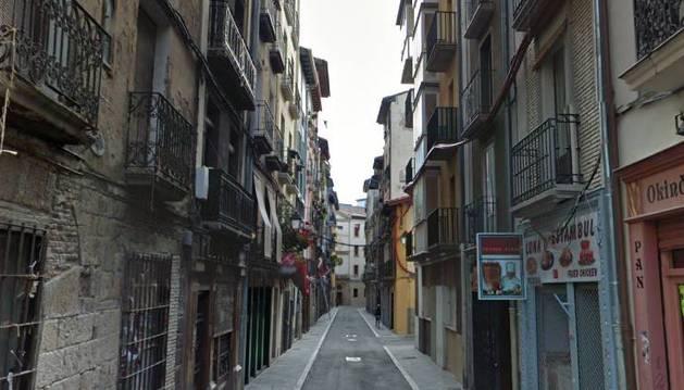 Calle Jarauta de Pamplona