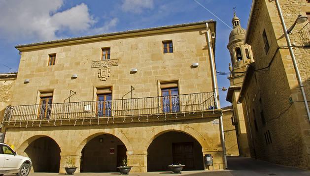 Imagen del Ayuntamiento de Arróniz.