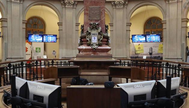 Foto de la sesión del miércoles en la Bolsa de Madrid