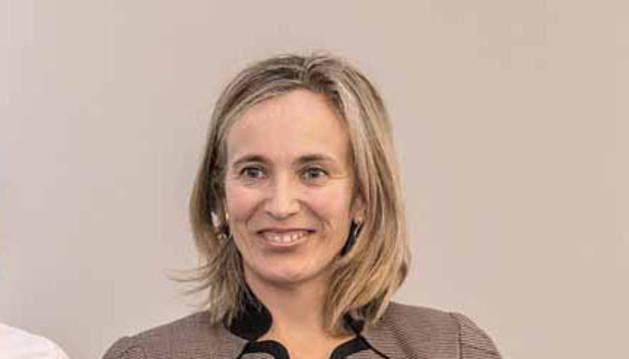 Izaskun Goñi Razquin, directora general de Política Económica y Empresarial y Trabajo del Gobierno de Navarra.