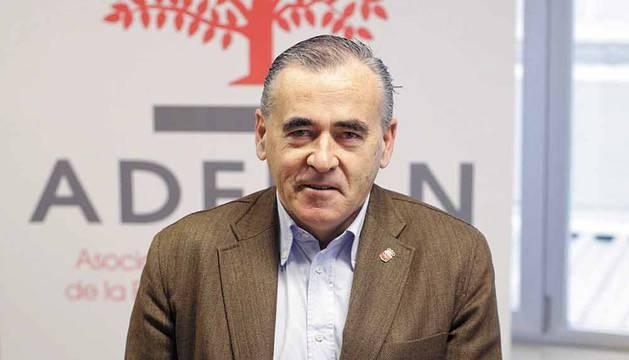Francisco Esparza Unsain, presidente de la asociación navarra de empresas familiares (Adefan).