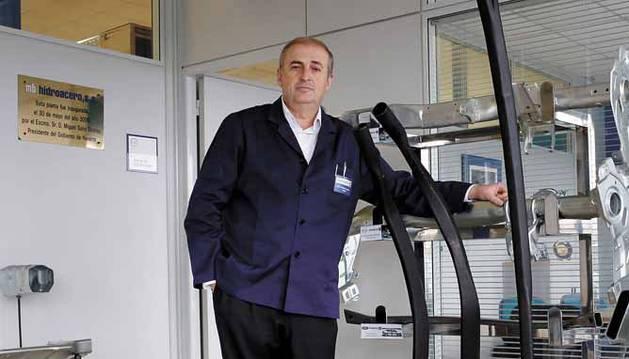 José Antonio Olangua Ramos, gerente del grupo Gestamp Navarra.