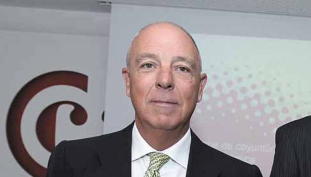 Javier Taberna Jiménez, presidente de la Cámara Navarra.