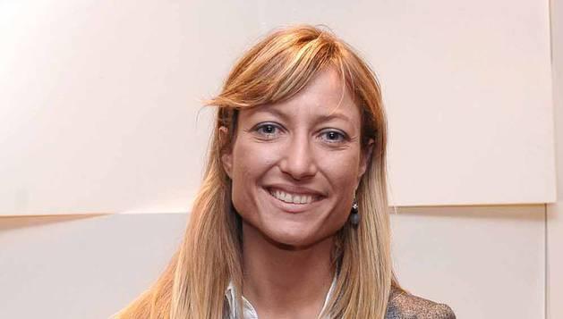 Miriam Guasch Tomás, directora de la planta de la multinacional papelera sueca SCA en Allo.