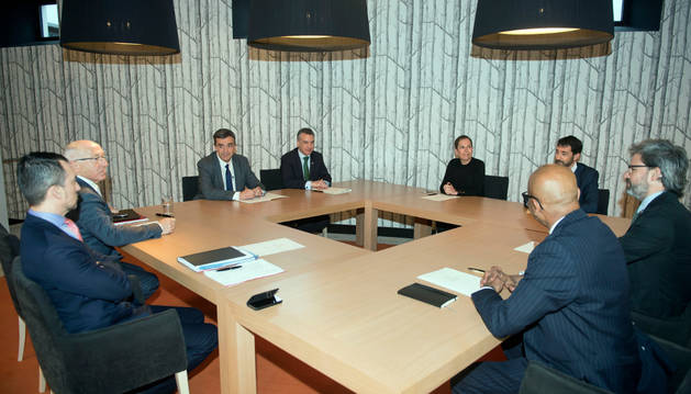 La reunión tuvo lugar en Vitoria-Gasteiz el pasado miércoles, en las instalaciones del centro tecnológico de Neiker-Tecnalia.