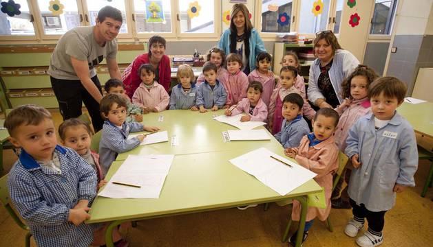 Impulso al cambio metodológico en el colegio Dña. Álvara Álvarez (Falces)