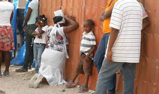 Fotografías de un país asolado por el seísmo de 2010.