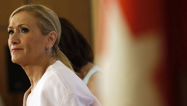 Imagen de Cristina Cifuentes, presidenta de Madrid.